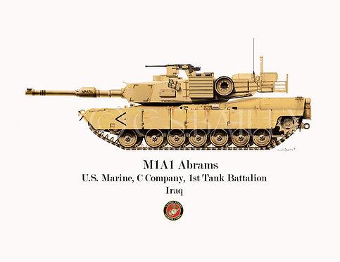 M1A1 Abrams Marine