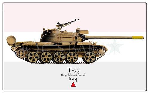 T-55 Iraq Desert Storm