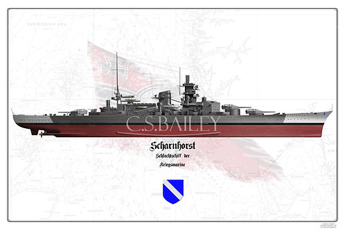 Scharnhorst FH print