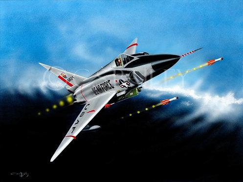 F-102 Delta Dagger Print