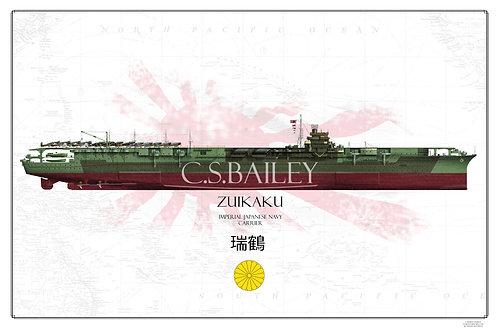 IJN Zuikaku 1944 FH Print