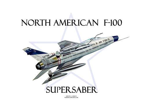 Early F-100 Super Sabre