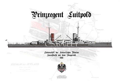SMS Prinzregent Luitpold WL T shirt