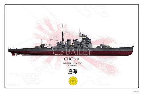 IJN Chokai FH Print