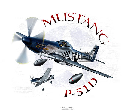 P-51D Mustang Drop tanks
