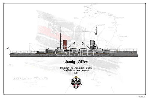 SMS Konig Albert WL print