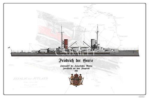 SMS Friedrich der Grosse WL print