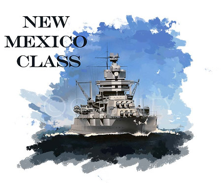 New Mexico Class battleship