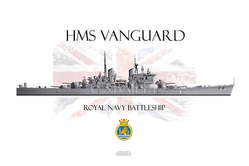 HMS Vanguard T-shirt