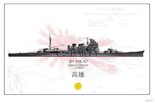 IJN Takao WL Print