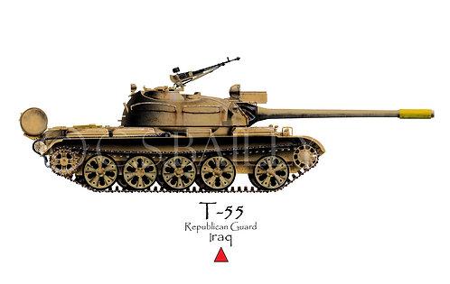 Iraq T-55