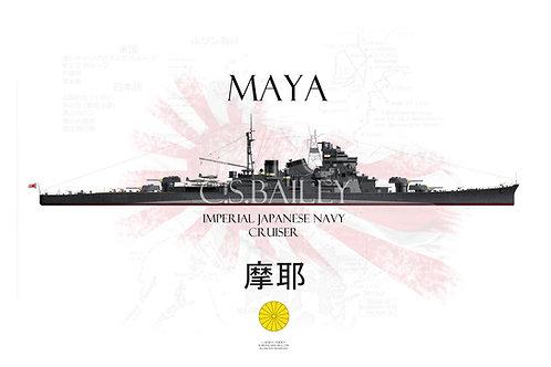 IJN Maya WL t-shirt