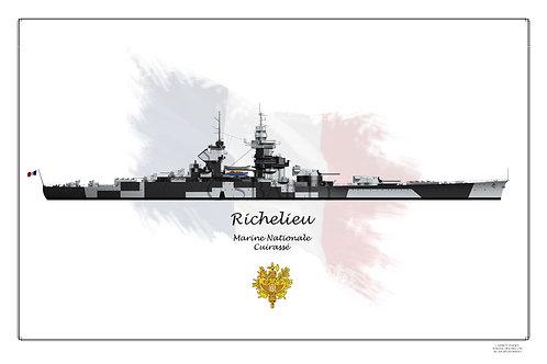 Richelieu Dazzle Geo WL print