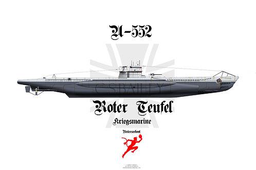 U-552 T-shirt