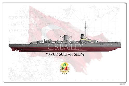 Yavuz Sultan Selim FH print