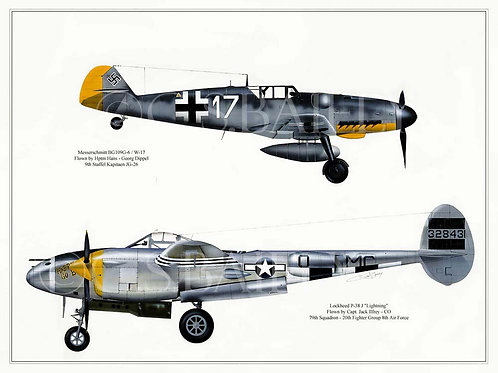 Adversary Profile 4  ME-109 vs P-38