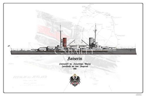 SMS Kaiserin WL print