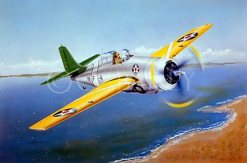 F4F-2 Grumman Wildcat