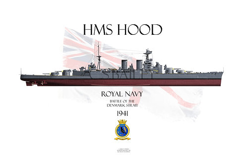 HMS Hood FH 1941