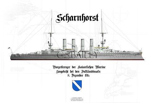 SMS Scharnhorst WL t-shirt