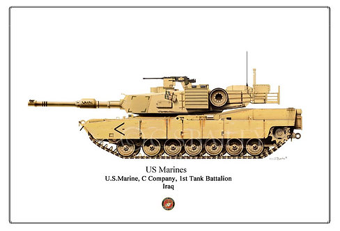 M1 A1 Abrams Marine