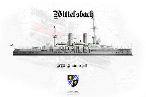 SMS Wittelsbach WL t-shirt