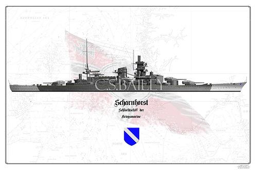Scharnhorst WL print