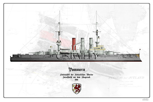 SMS Pommern WL Print