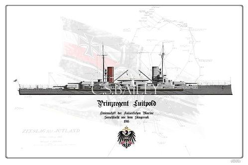SMS Prinzregent Luitpold WL print