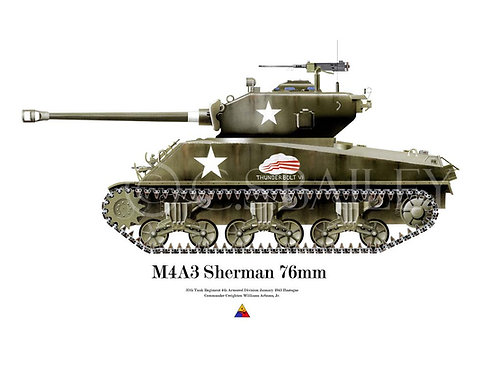 Sherman 76mm