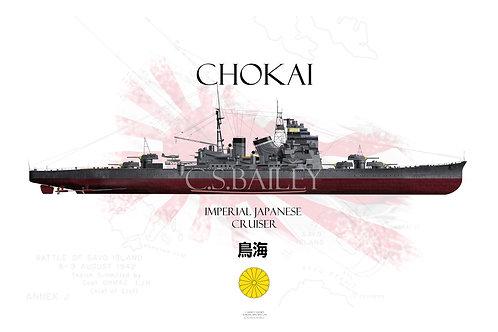 IJN Chokai FH t-shirt