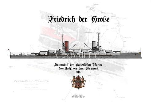 SMS Friedrich der Grosse WL T-shirt