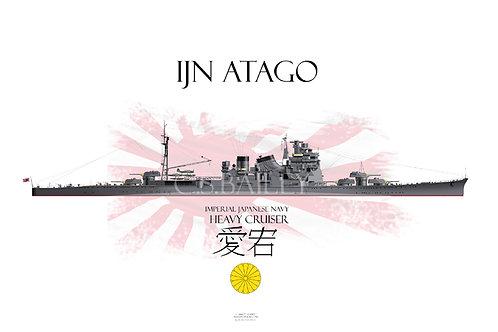 IJN Atago t-shirt
