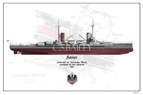 SMS Kaiser FH print