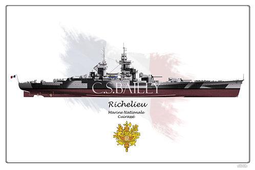 Richelieu Dazzle Dark FH print