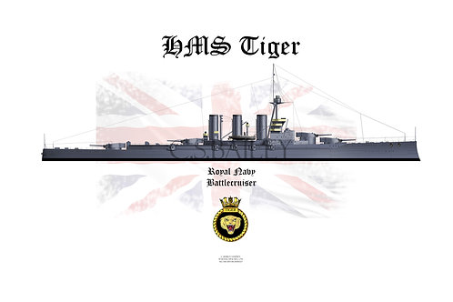 HMS Tiger T-shirt