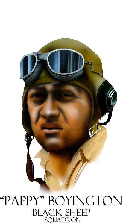 """Pappy"" Boyington"