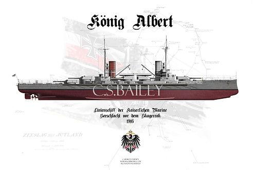 SMS König Albert FH t shirt