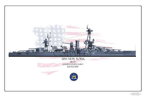 USS New York BB 34