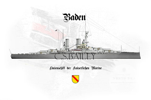 SMS Baden WL t-shirt