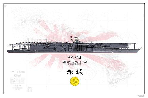 IJN Akagi Pearl Harbor Raid WL Pri