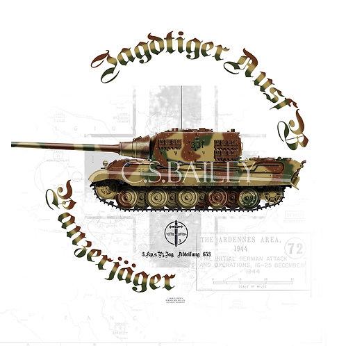Jagdtiger Ausf B T-shirt