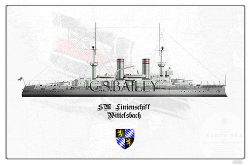 SMS Wittelsbach WL print
