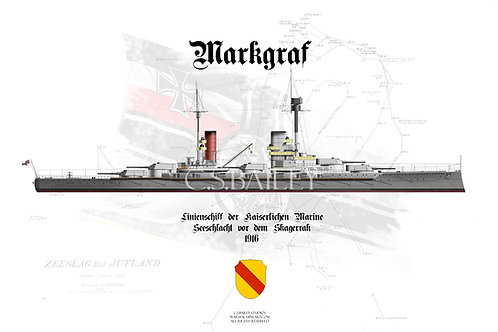 SMS Markgraf WL T shirt