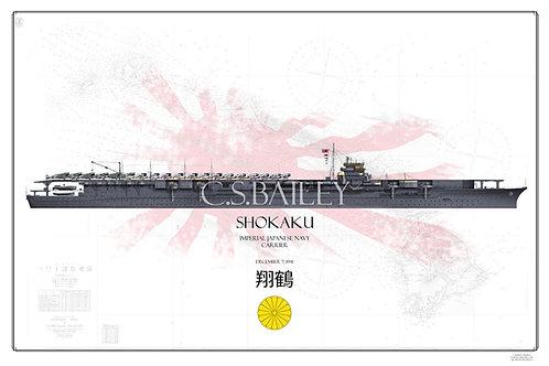 IJN Shokaku Pearl Harbor Raid WL Print