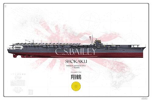 IJN Shokaku Pearl Harbor Raid FH Print