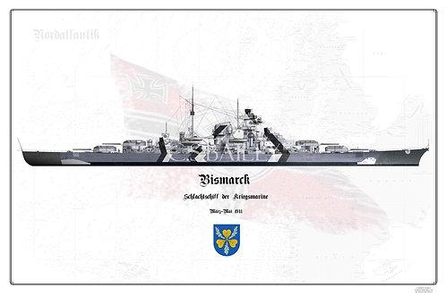 Bismarck Baltic Camo Full WL print