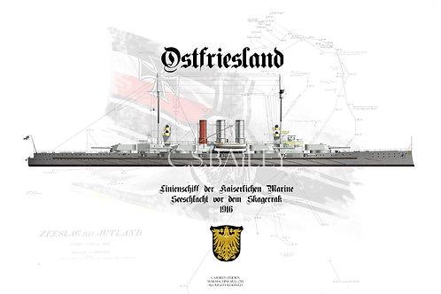 SMS Ostfriesland WL t-shirt