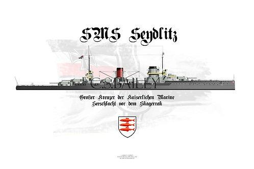 SMS Seydlitz WL Post Jutland Special Edition