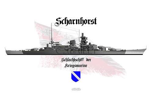 KMS Scharnhorst T-shirt